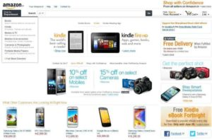 Products and brands of Amazon