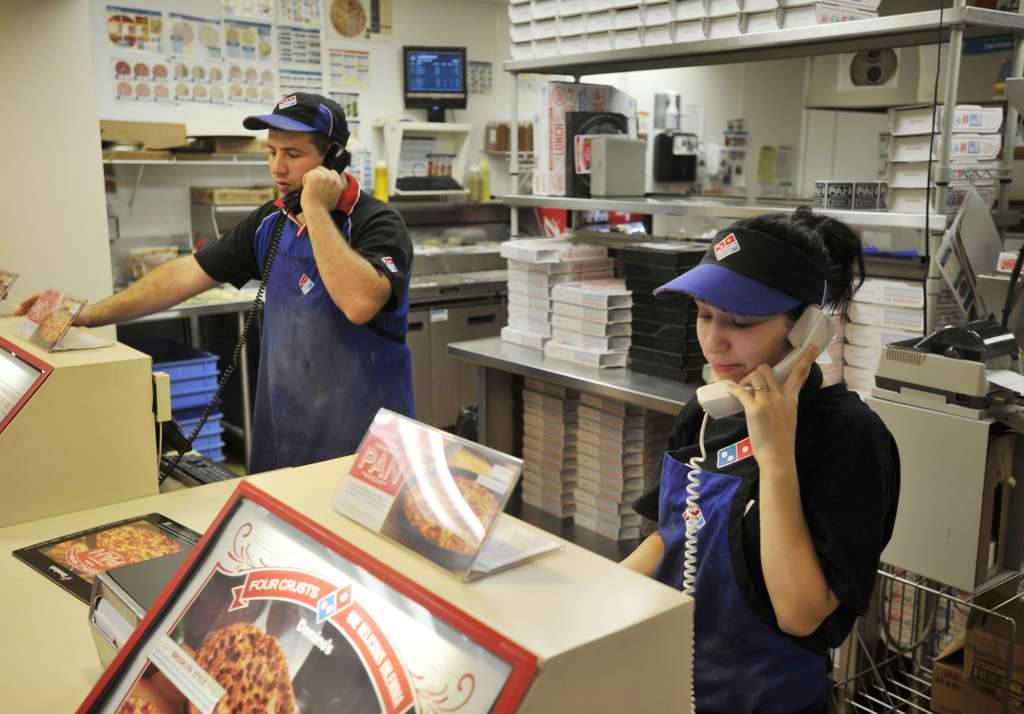 Dominos customer services Images