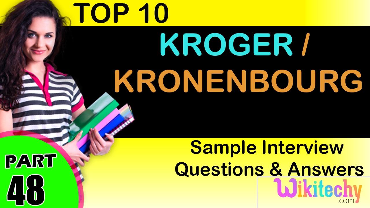 Kroger Careers and Jobs