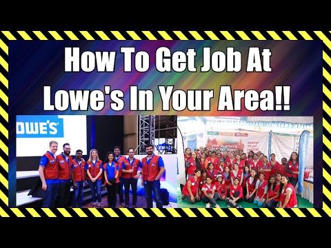 Lowe's Careers and Jobs