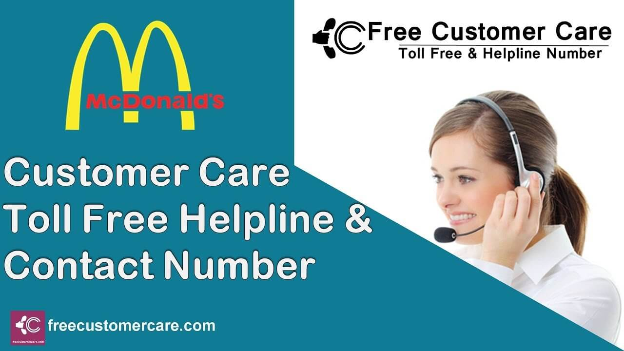 McDonalds customer services