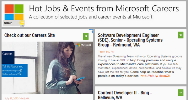 Microsoft Careers and Jobs