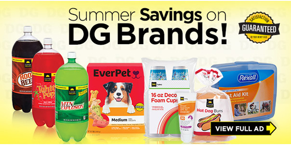 Products and brands of Dollar General
