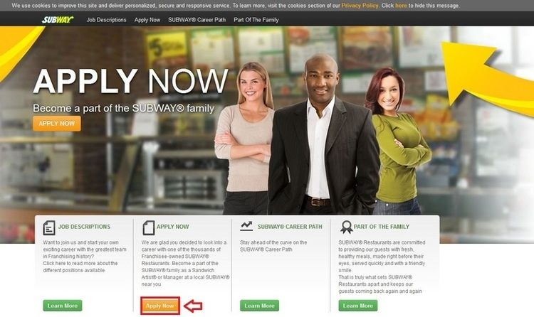 Subway Careers and Jobs