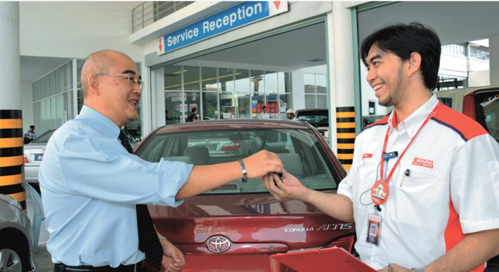 Toyota customer services Images