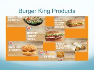 Burger King Products images