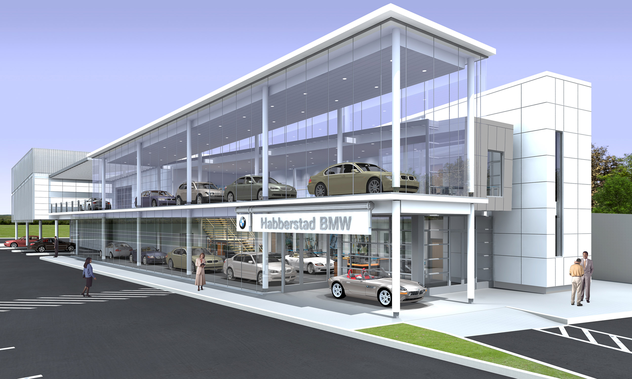 Bmw North America >> Bmw Of North America Corporate Office And Headquarters