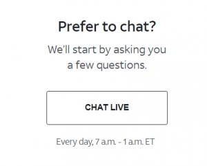 att live chat