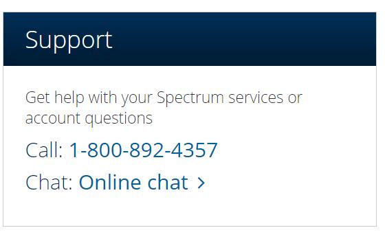 Spectrum Customer Service Help Support Centralguide Net