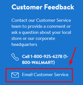 walmart.com email support