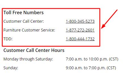 dillards phone number
