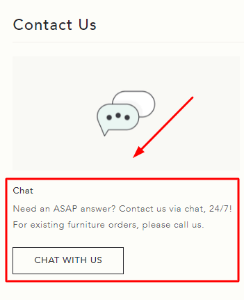 anthropologie live chat