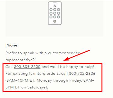 anthropologie phone number